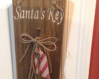 Santa's Key Wall/Door Hanger