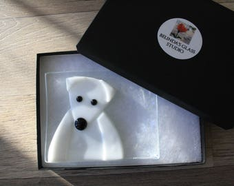 Soap Dish / Spoon Rest - Polar Bear