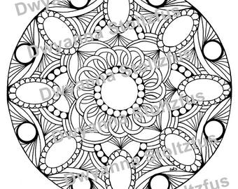 Gemstone Package - 10 Gemstone Coloring Pages PDF
