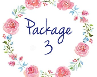 Customizable Party Decorations Package, Party Decor, Birthday Party