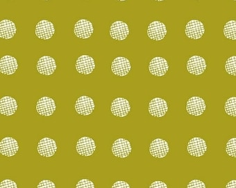 Lemmikki by Lotta Jansdotter for Windham Fabrics - 43086-2 - Lime Yellow - 1/2 Yard Cotton Quilt Fabric