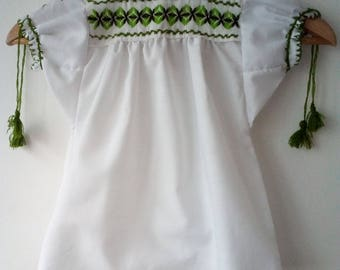 Mexican blouse for baby