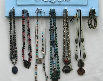 NECKLACE Hanger Jewelry Organizer And Display Shabby Chic  *** Buy 1 From The Shop And Get 1 Small Gift ***