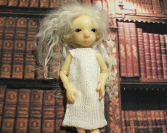 BJTales Lidia Snul Mouse BJD doll knitted dress with a pocket all colors
