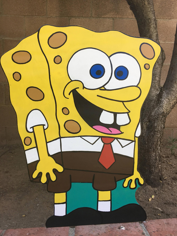 24 Sponge Bob Square Pants Decoration Gary Birthday
