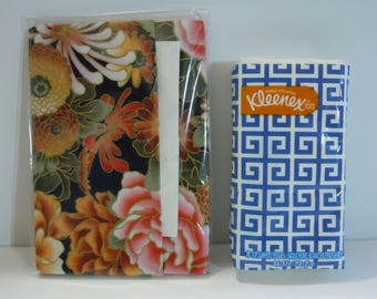 Everyday Purse or Pocket Tissue Cover - Beautiful Asian Rose Print