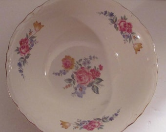 Vintage Shabby Chic Rose Bowl