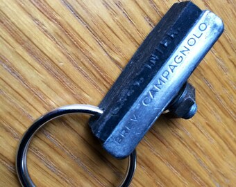 Campagnolo Recycled Vintage Bicycle part Key Fob / Key Ring