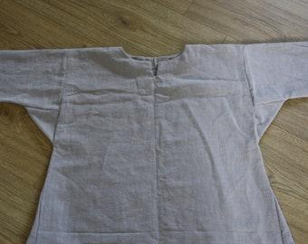 Viking linen tunic - grey