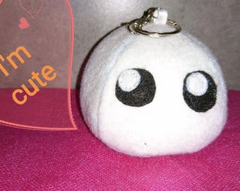 Cute plush keychain
