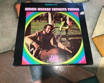 Sergio Merdes Favorite Things on Atlantic original label 1968 bossa nova