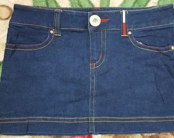 Vintage Tommy Girls skirt / Tommy Hilfiger / great design