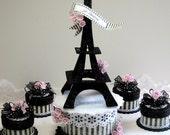 Eiffel Tower Cake Topper,...