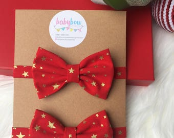 Boys bow tie or girls headband
