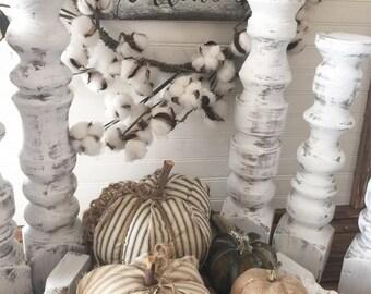 Wood Candlestick