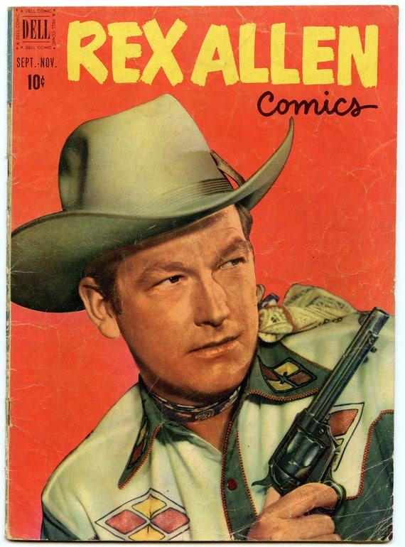 Rex Allen Comics 2 Nov 1951 GD-VG (3.0)