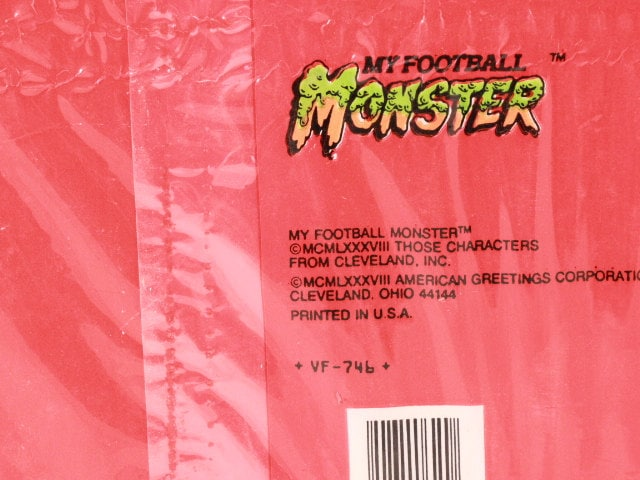 Vintage 1988 my football monster valentine cards and envelopes 30 vintage 1988 my football monster valentine cards and envelopes 30 cards forget me not american greetings m4hsunfo