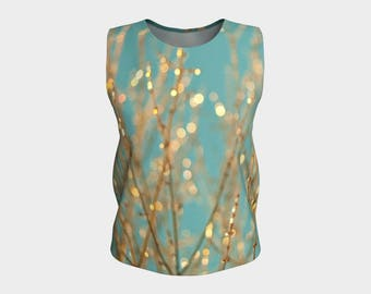 Loose-fit Tank Top - long or regular length - All That Glitters