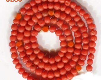 Mediterranean Natural Coral Beads,  Rich Color,  Mini Beads 5159.5224.5278