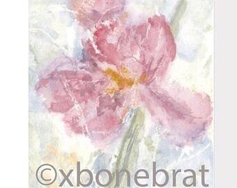 IRIS Digital Art. Digital Print Download. Printable download. Watercolor. Greeting Card. Digital Card. Floral Cards. Painting Art Print.