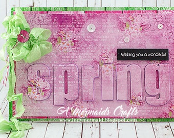 Wishing You a Wonderful Spring Greeting Card