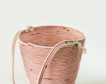 Anette big rope bucket bag - custom made