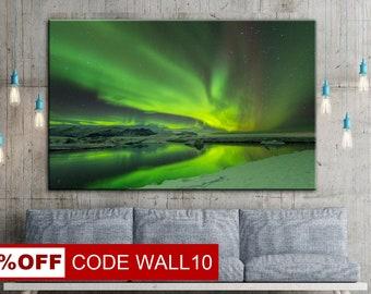 Aurora Borealis picture, Aurora wall art, Aurora Borealis, Aurora Borealis art, Northern Lights, Aurora Borealis Art, Aurora Borealis canvas