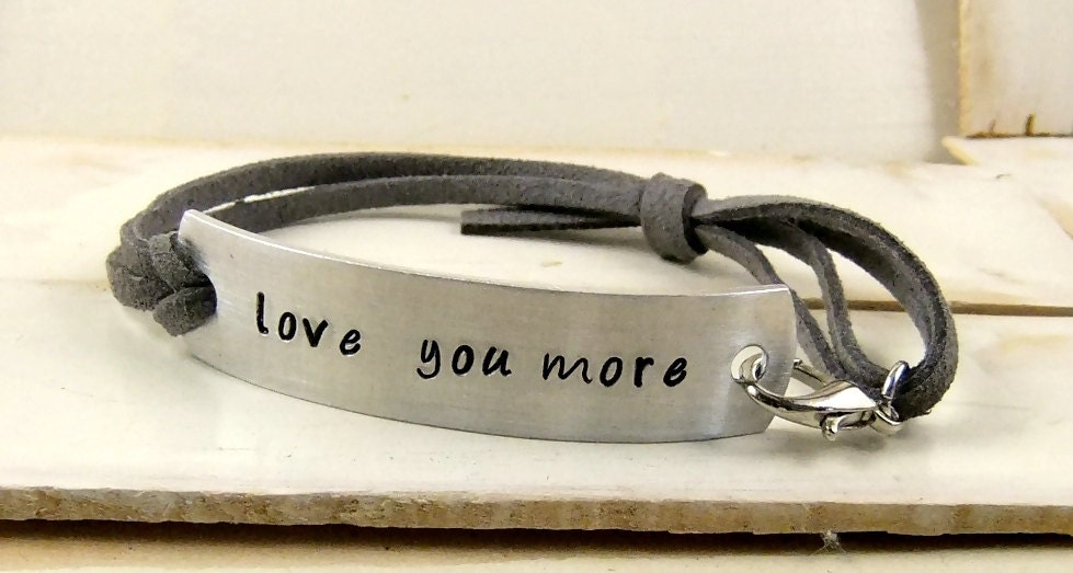 stamped happy bracelet hand hammered cuff hour projects