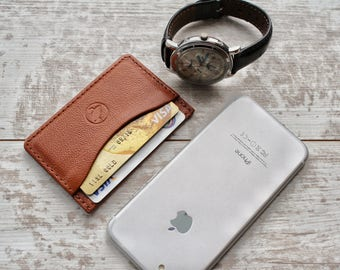 mini wallet minimalist wallet slim wallet front pocket wallet mens leather wallet personalized wallet leather card holder card wallet