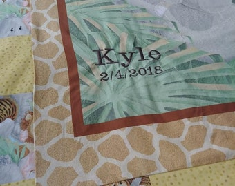 Unique Baby Quilts Made to Order