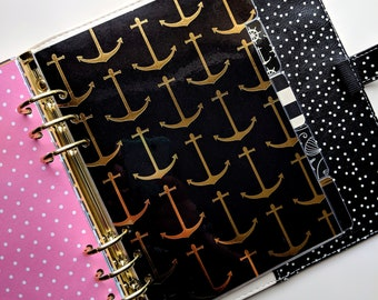 Five (5) Tab Dividers - Planner - A5, Personal, A6
