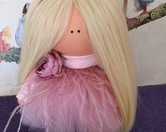 Handmade doll ~ Interior doll ~ Rag doll ~ Soft Doll