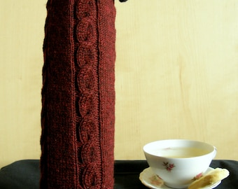 bottle cozy, thermos sleeve, bottle cover