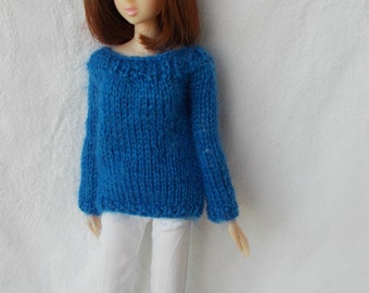 Mohair sweater available for Momoko, blythe, barbie, fashion royalty, pullip, bjd...