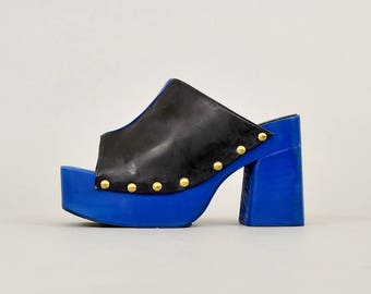 RARE • 90's Luichiny Platform Sandals (US 6)