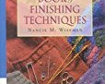 Knitter's Book of Finishing Techniques