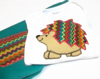 Baby Boy Clothes, Hedgehog baby, Baby Boy Gift, Newborn Baby Boy, Hedgehog Baby Gift, Peapodlilfrogs
