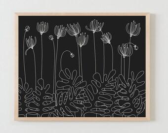 Fine Art Print.  Flowers. November 2, 2015.
