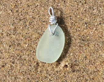 Clear Wired Michigan Beach Glass