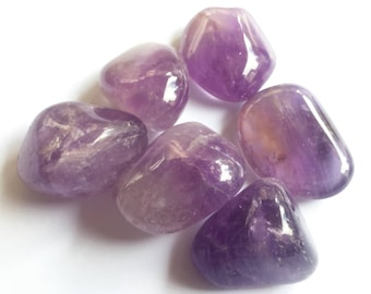 Amethyst - One Quarter Pound of Tumbled Amethyst from Bolivia