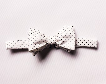 Navy Bow Tie, Navy Patterned Bow Tie, Mens Bow Ties, Mix and Match Bow Ties, Navy Bow Ties, Groomsmen Bow Ties, Wedding Ties, polka dot