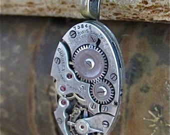 STeampunk necklace - Steampunk Necklace - Repurposed Art