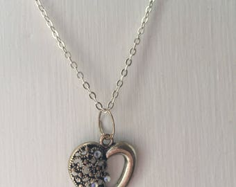 Vintage heart necklace