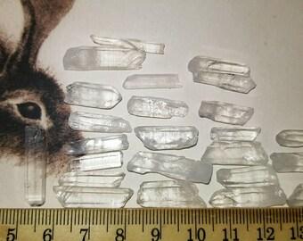 Quartz crystals, for electroforming