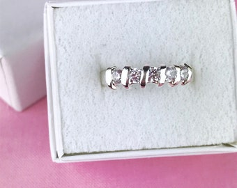 Sterling Silver Ribbon Ring