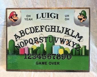 Luigi Ouija board (Slight second)