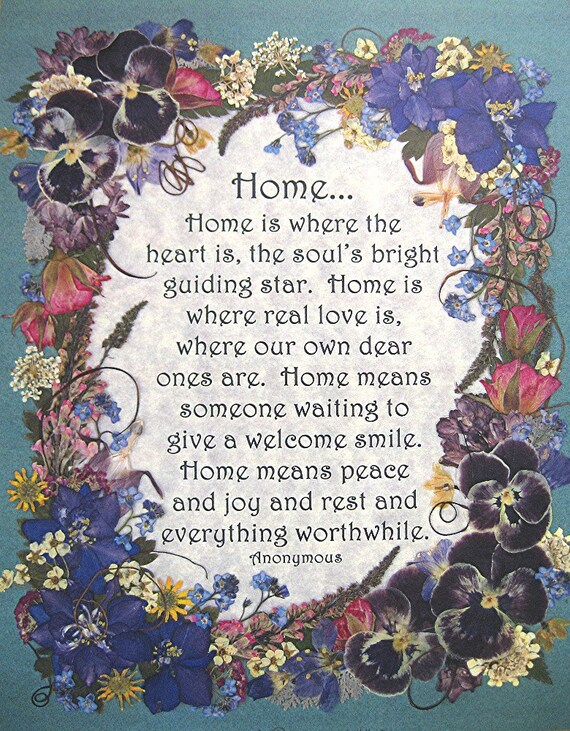 home housewarming gift home pressed flower art reproduction. Black Bedroom Furniture Sets. Home Design Ideas