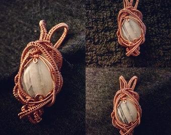 Moonstone in Copper