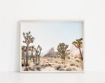 joshua tree print, desert print, joshua tree desert print, joshua tree photo, joshua tree fine art, joshua tree photography