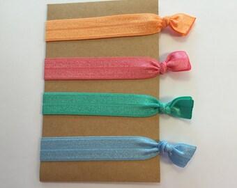 Lot Of 20 Multi Color Hair Ties Emi Jay Inspired Grab Bag